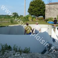 construction piscine Atlantis