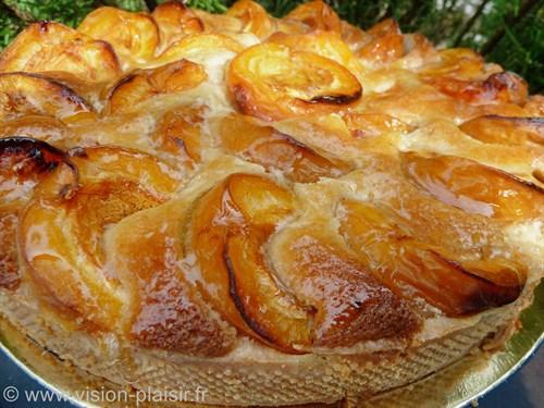 Abricots an tarte et amandes