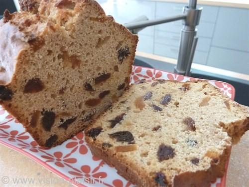 Cake fruits secs et pineau