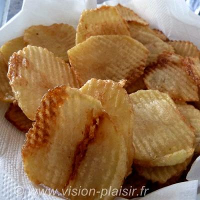 Chips gaufrees 2
