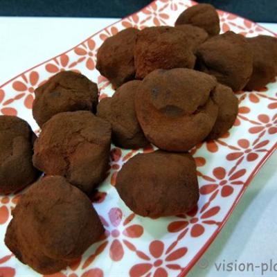 Chocolat en truffe