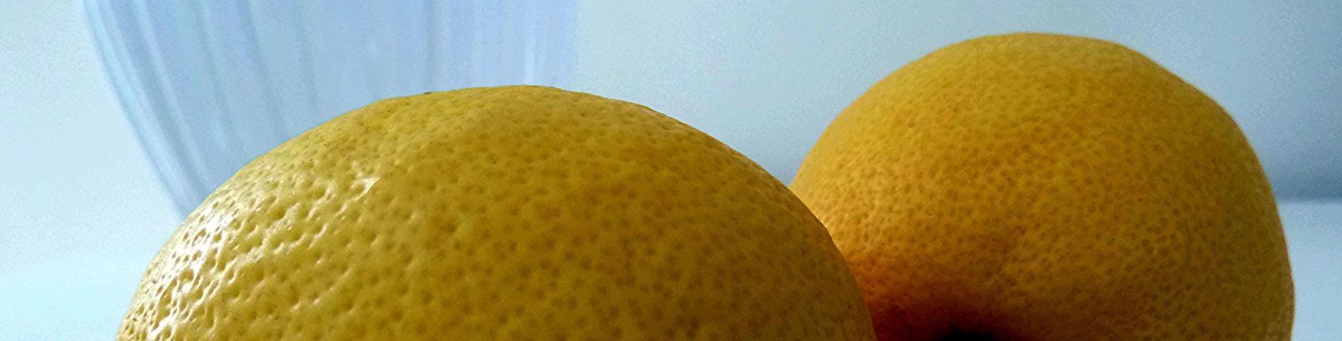 Citron jaunes