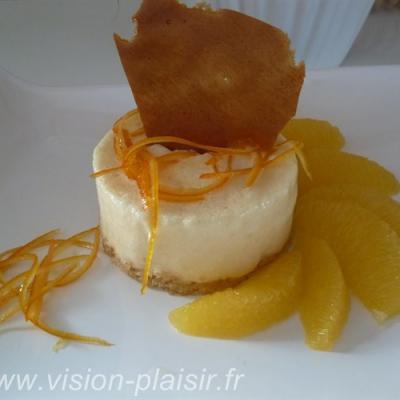 Dessert glace a l orange 1