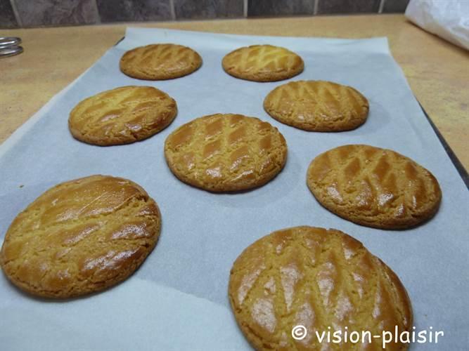 Fin de cuisson des galettes bretonnes