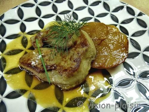 Foie gra statin navets 1