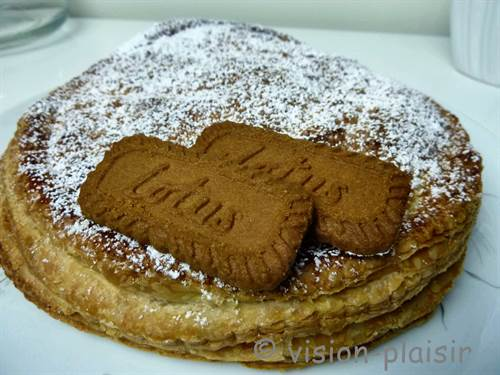 Galettes frangipane speculoos