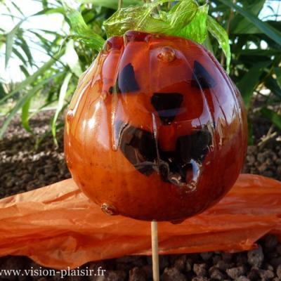 Halloween pommes