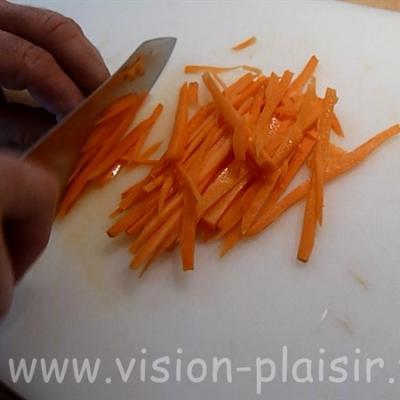 tailler légumes