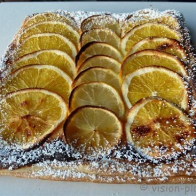 La tarte citron et orange 1