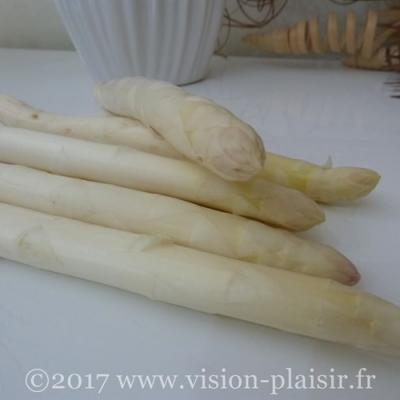 asperges blanches cuite