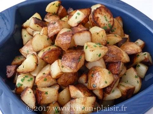 pommes de terre-ciboulette