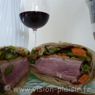 filet de canard-croustillant