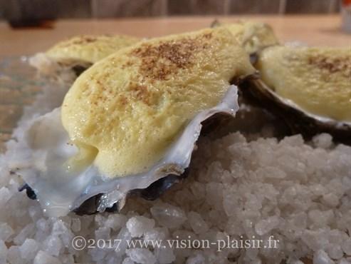 huîtres-gratinées