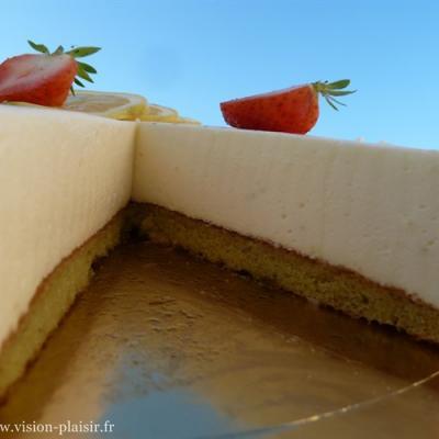 délice pistache-biscuit pistache
