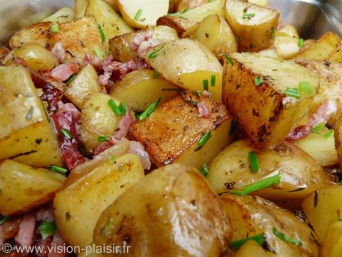 Pommes de terre plancha