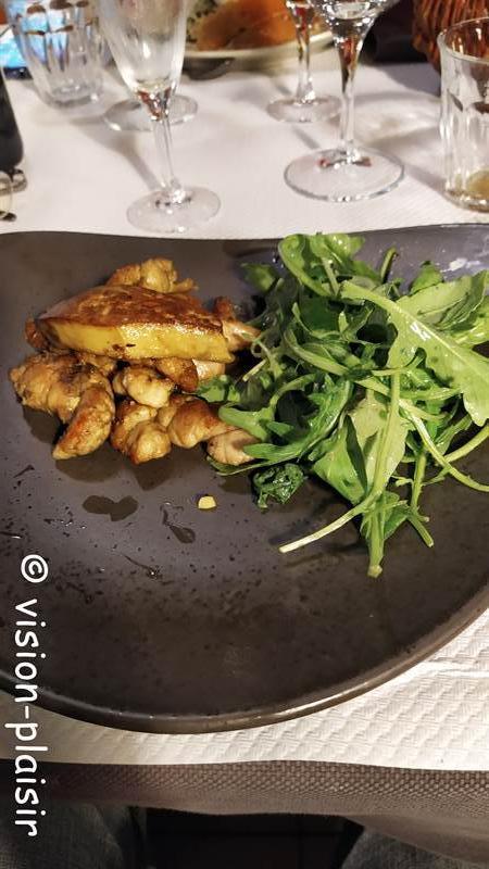 Ris d agneau au foie gras