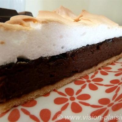 Tarte chocolat meringue